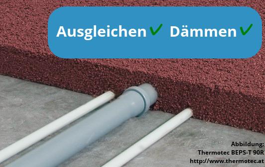Fußboden Ausgleichen Und Dämmen ~ Leichtestrich ausgleichsestrich und leichtbeton wir erklären was