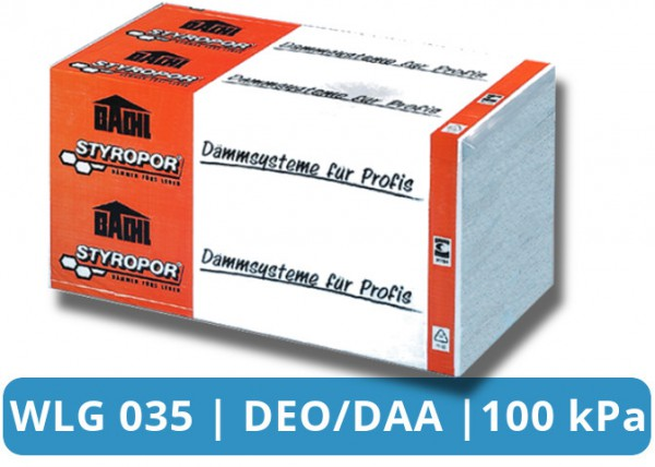 EPS 035 DEO/DAA 100 kPa Mehrzweckdämmplatte