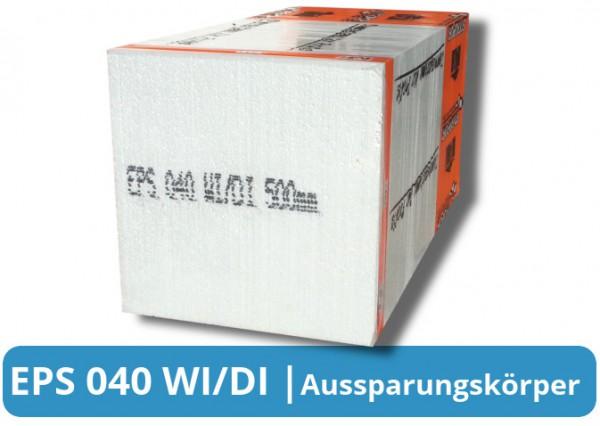 Aussparungskörper EPS 040 WI/DI