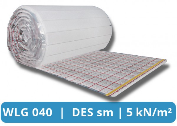 Thermorolle EPS 040 DESsg Tackerplatte