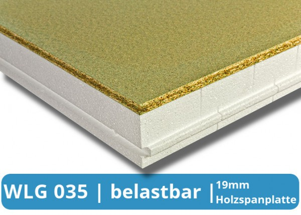 EPS Boden-Dämmplatte WLG 035 P3 Spanplatte